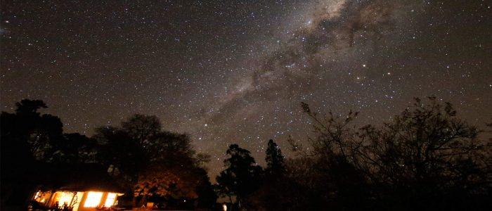 star gazing drakensber